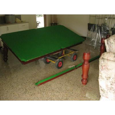 Billiard Table disassembly