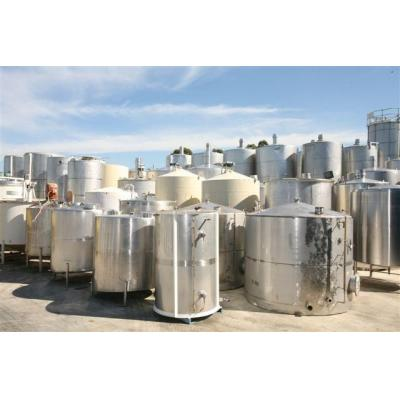 Stainless Steel Tanks - Selection of used tanks
