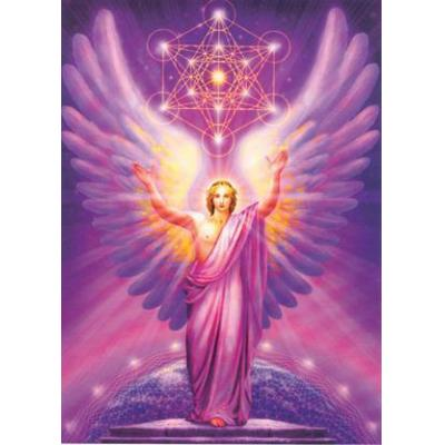 4. Metatron & Cube - Metatron is the highest of the Archangels and he sits at the base of the Tree O