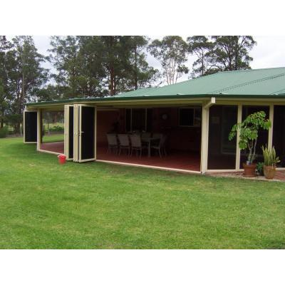 Flyscreen bifolds Kempsey - flyscreen bifolds for outside entertaining areas