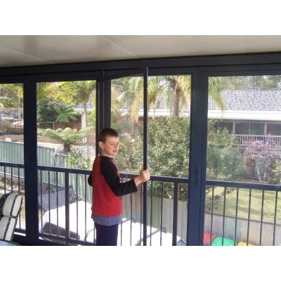 Fitting weathershields - fitting weathershields in to flyscreen doors