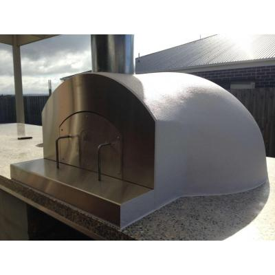 DIY with Stainless steel - Michael in the Latrobe valley did a great job building his oven