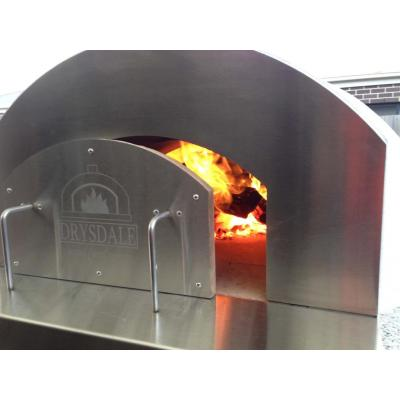 Stainless steel front - Our ovens stay hotter for longer