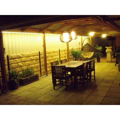 Entertaining- (LED strip, Pendant & Ceiling Fan) A - Entertain Outdoors - LED Strips - Brilliant lig