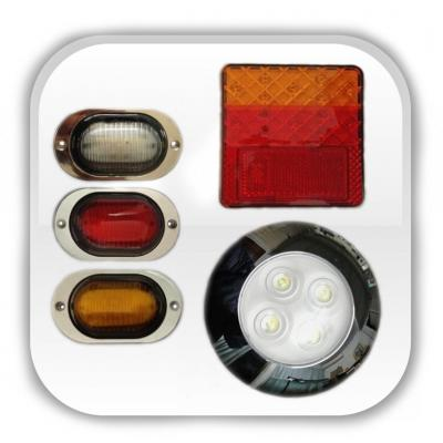 LED Lighting - A variety of LED Lighting products for trailers.