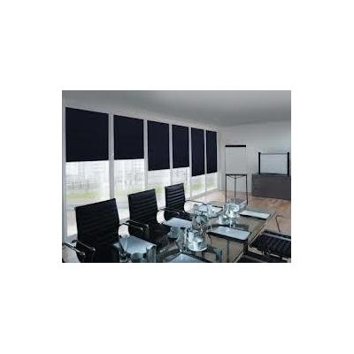 Roller Blinds - The Office Roller Blind Cleaning.