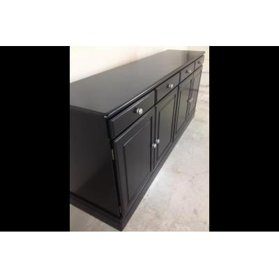 Entertainment units - Satin Black Lacquer