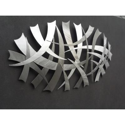 Wall Sculpture - Stainless Steel Wall Sculpture.