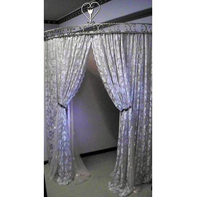 Changeroom - Wrought iron Women's elegant changeroom Parisian style.