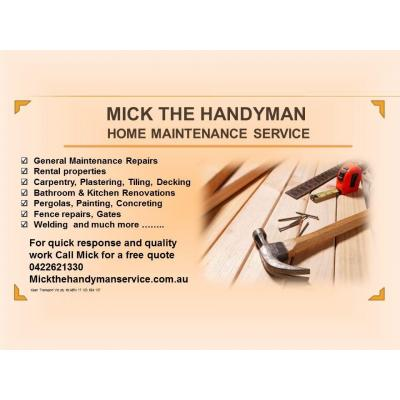 Mick the Handyman