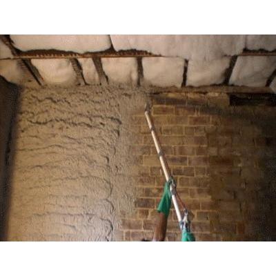 Spraycrete Cement Wall