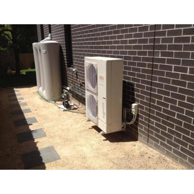 MB Air - Ducted Outdoor Unit on Wall Bracket - Merton Street, Camberwell