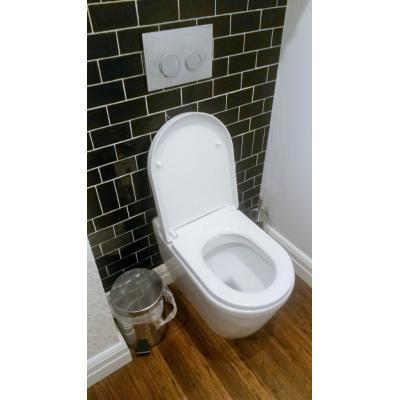 Toilet - Sterilize the toilet