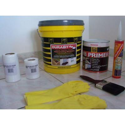 Waterproofing products - diy bathroom waterproofing kit