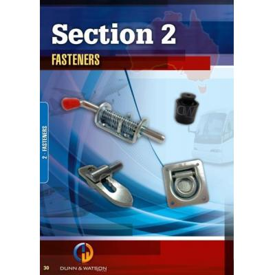 Fasteners - Massive selection of fasteners. Spring bolts, over centers, tie downs, etc.