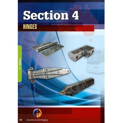 Hinges - Huge range of hinge including stainless steel & galvanised continuous hinge, bullet hinge,