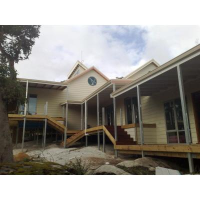 Goode Beach - a well designed split level house exceeding 600m2 of floor space, jarrah decking and f