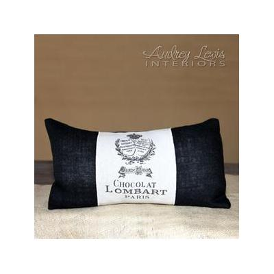 Vintage envelope cushion - http://www.audreylewisinteriors.com/accessories.html