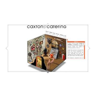 Caxton St Catering - Full Flash Website