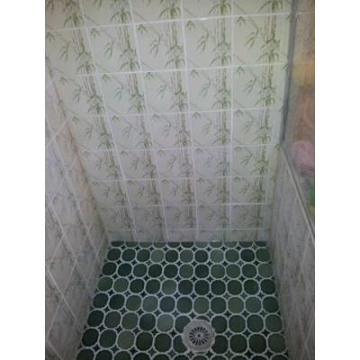 Green Shower - After