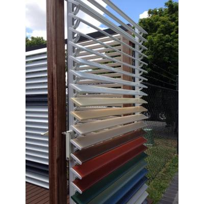 Adjustable louvers - adjustable louvers give the convenience of internal operation