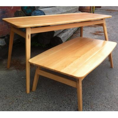 Custom made tables - Solid timber table Melbourne
