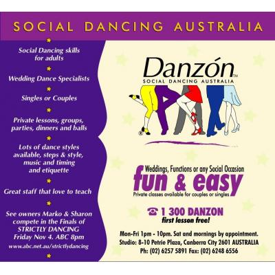 DANZON Dance Studio - Dance Classes Canberra