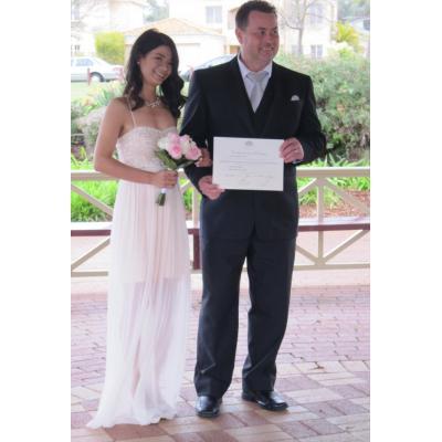 John and Hahn - Park wedding