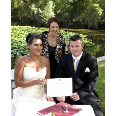 Jacqui and David - Community Garden wedding