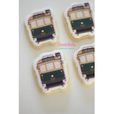 Tram Cookies Victoria - Corporate cookies for any occasion, in any design! These Melbourne Tram cook