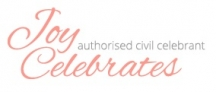 Joy Celebrates - Wedding Celebrant Western Sydney & Blue Mountains logo