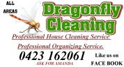 Dragonfly Cleaning - Cleaners Capalaba logo