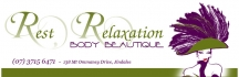 Rest Relaxation Body Beautique logo