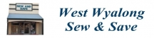 Blinds & Fabrics @ Sew & Save West Wyalong logo