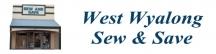 Blinds & Fabrics @ Sew & Save West Wyalong logo