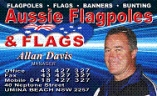 AUSSIE FLAGS AND FLAGPOLES logo