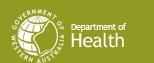 Western Australia Health Info. logo