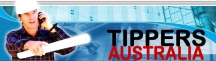 TIPPERS AUSTRALIA The Tip Truck Specialists logo
