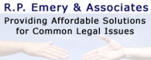 Legal Documents All States RP Emery and Assoc. logo