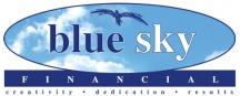 blue sky Financial logo