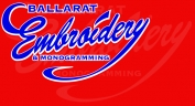 Promotional Clothing BALLARAT EMBROIDERY logo