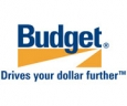 Car and Truck Rentals. Budget logo