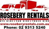 Sydney Car & Truck Rentals Rosebery Rentals logo