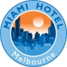 Miami Hotel Melbourne - Budget Accommodation Kensington logo