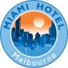 Miami Hotel Melbourne - Budget Accommodation Kensington logo