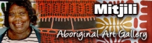 Mitjili Aboriginal Art Gallery logo
