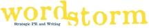 Public Relations by WordStorm PR logo