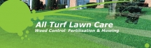 All Turf Lawn Care logo