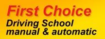 First Choice Driving School - Driving Lessons Ridgewood WA logo