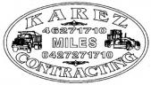 Karez Contracting Pty Ltd - Transport Services Miles logo